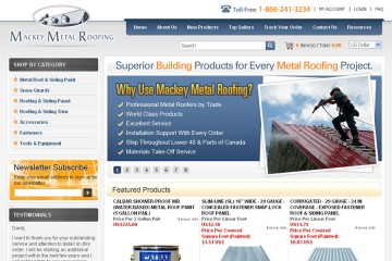 Mackey Metal Roofing