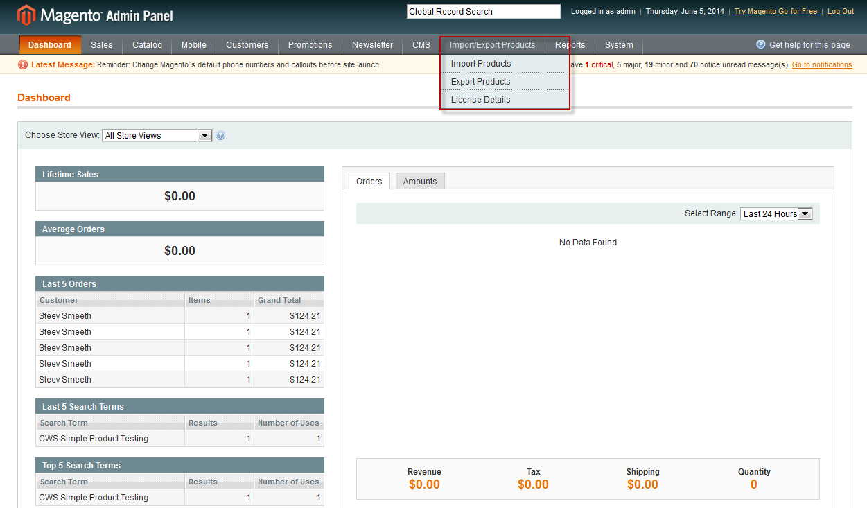Magento import export products with categories multiple for Magento csv import template
