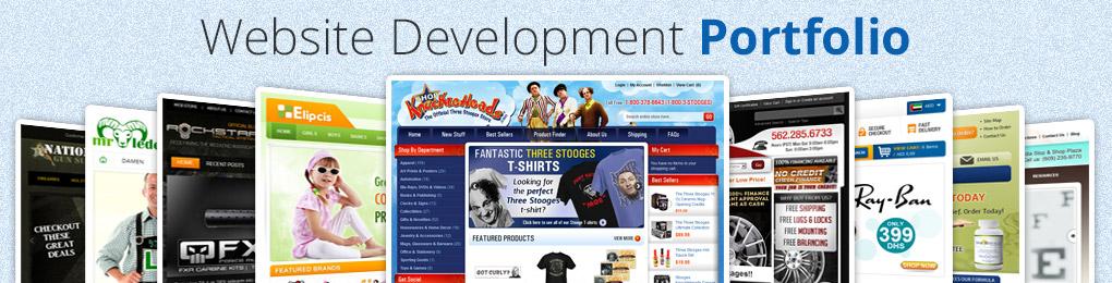 Web Development Website Design Porfolio