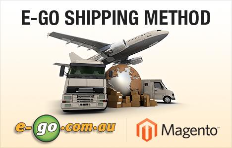 Magento E-go Shipping Method Extension