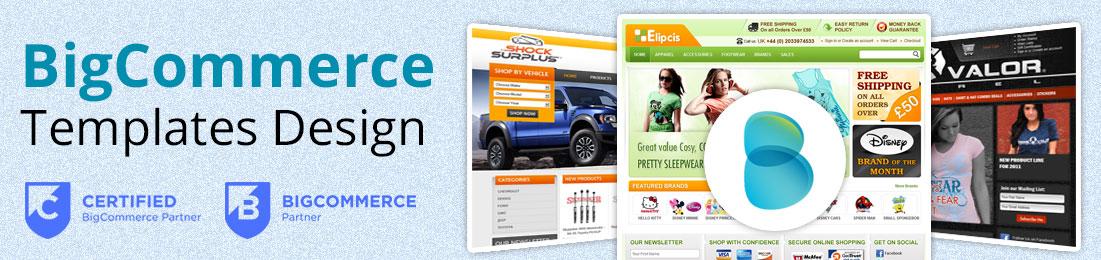 Responsive BigCommerce Template Design