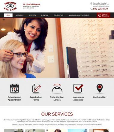 Monroe Eye Care Optometric Physician