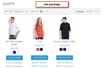 Magento Color Swatches Extension