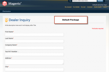 Magento Dealer Inquiry Extension