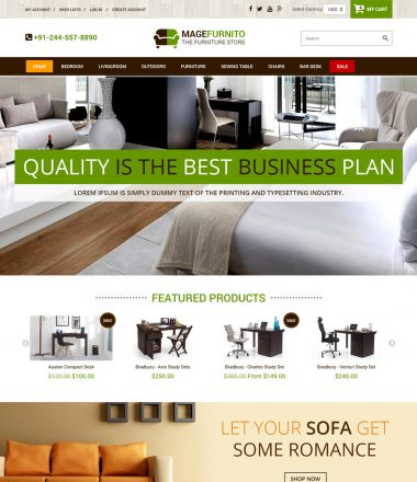 Shopify Furniture Theme