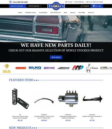 Tamrazs Parts Discount Warehouse