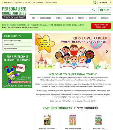 Personalized Books and Gifts